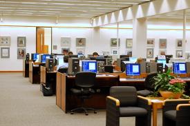 South Campus Library Interior